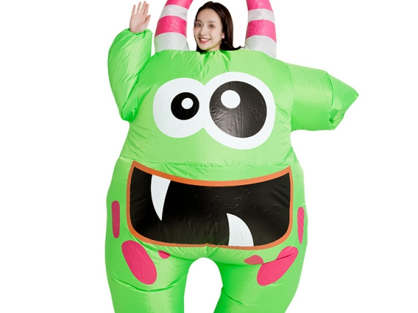 Inflatable cute dolls little monster shape promotion suit (No.INF-P001)