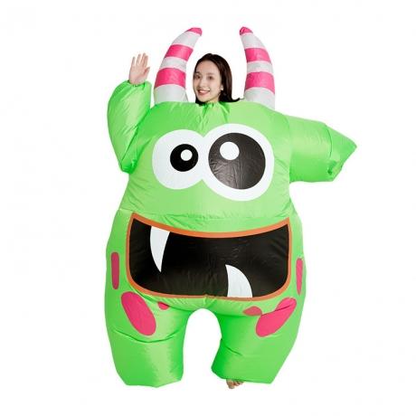Inflatable cute dolls little monster shape promotion suit (No.INF-P001)