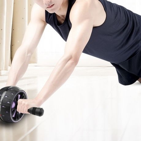 Roller for abdominal exercise