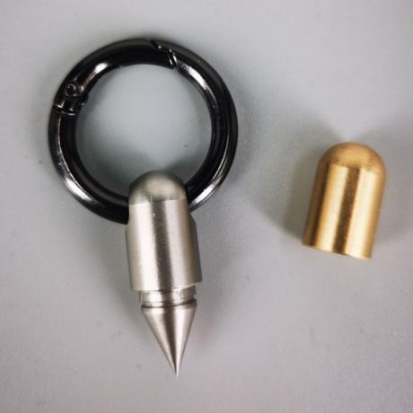 Mini capsule knife for unpacking