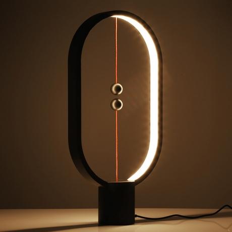 Oval circle shape novelty designing effect balance light (No.ML-HE01)