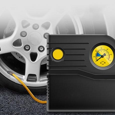 Portable vehicle air pump