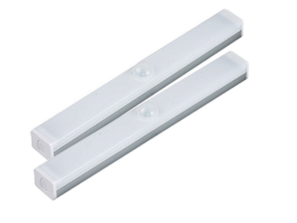 USB rechargeable PIR sensitive bar shape night lamp (No.ML-C115)
