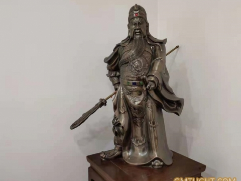 """Guan Gong:worshipped as """"God of wealth"""" in China"""