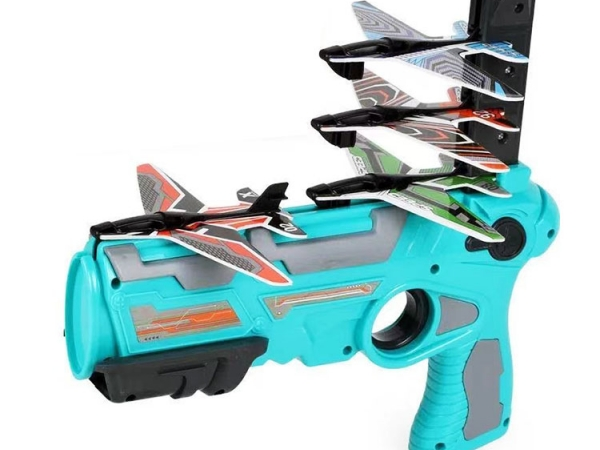 Continuous launch ejection foam toy plane set pack (No.FN-045)