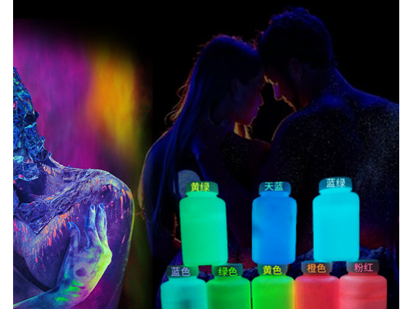 Water based luminous paint