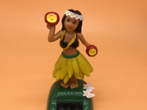 Solar energy Hawaii girl solar swing hula girl