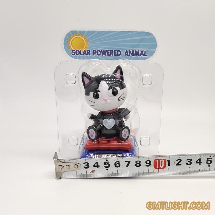 solar swing cat