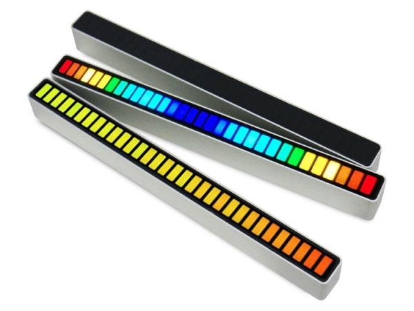 32 LED sound controlled light up beat flashing sensitive light (No.DJ-RGB32)