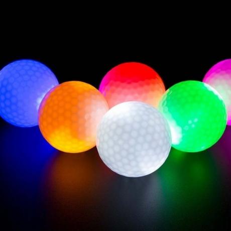 LED luminous Golf night practice ball