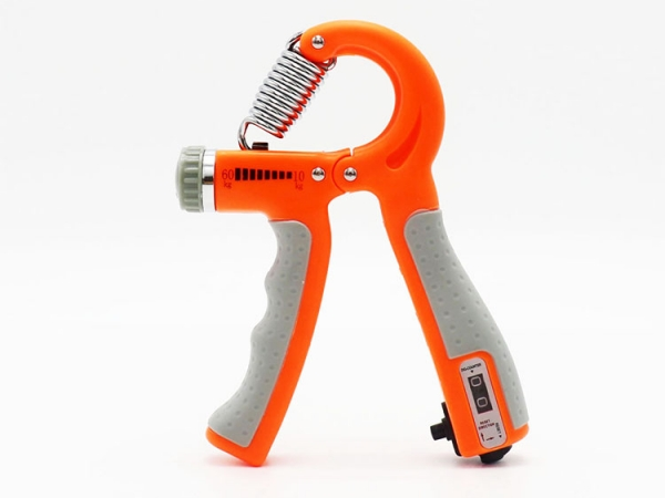 Adjustable strength portable hand power practice grip with counter (No.YSR-107)