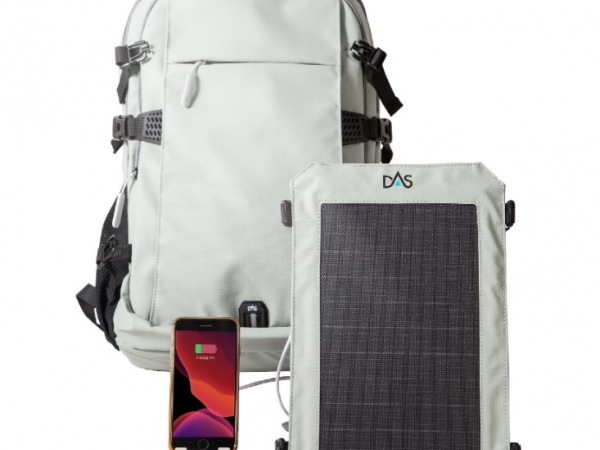 Factory direct supply business backpack with solar charging