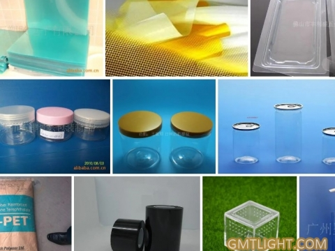 """Advantages and wide application of plastic material """"PET"""""""