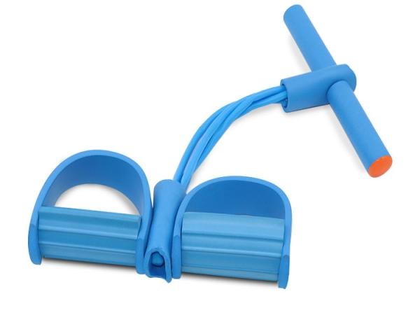 Yoga fitness 4 ropes elastic self pulling exerciser (No.YSR-002)