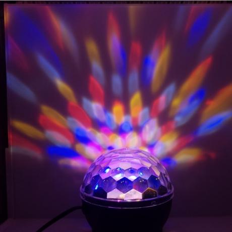 voice control flash magic disco ball lamp