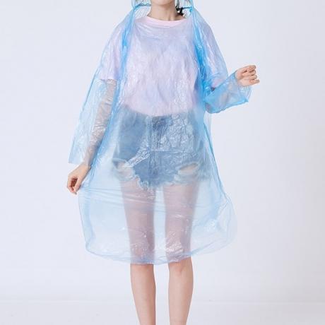 Disposable raincoat for freegiving gift