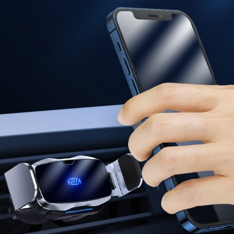 Automobile electric automatic induction mobile phone bracket
