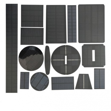 Pet frosted solar panel polysilicon 5V solar panel