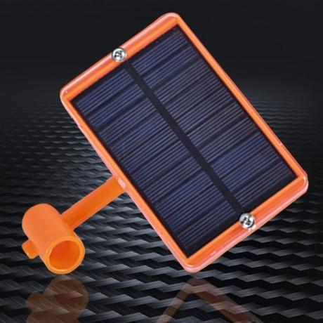 Environment friendly solar sound bird repeller