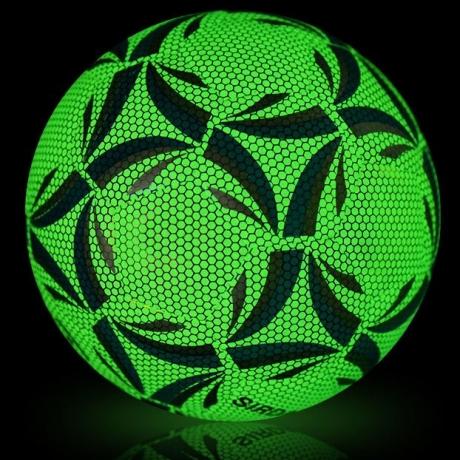 Luminous glow in dark football