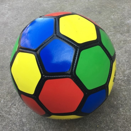 Standard No.5 colorful football for children