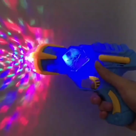 LED flash light gun for performance or party