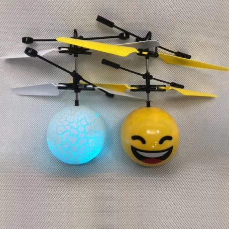 The induction flying ball with propeller used to promote gifts