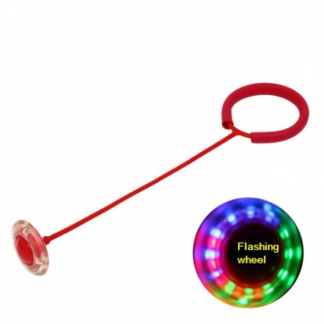 Flash roller swing ball for fitness