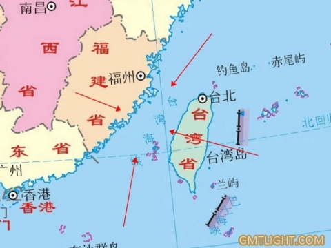 Do you know the width of the Taiwan Strait?
