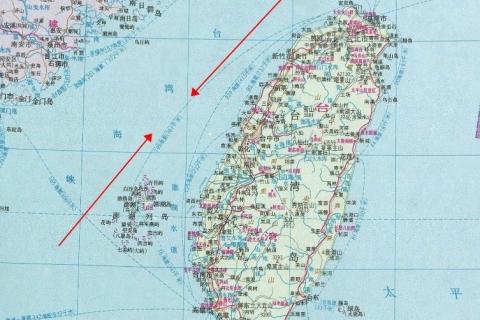 台湾海峡的宽度是多少?