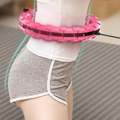 New digital intelligent fitness assembled hula circle hoop