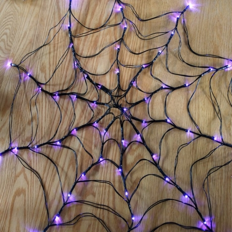 Spider web lamp for Halloween Decoration