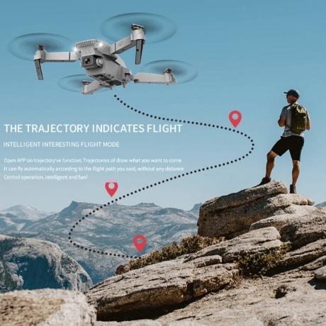 Folding wing UAV for junior pilots long endurance remote control UAV aerial photography four axis ai