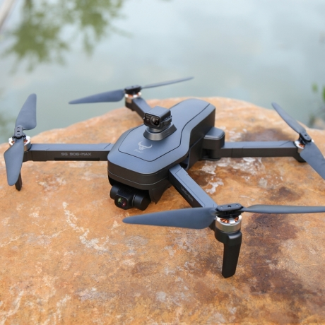 Three axis PTZ EIS HD 4K aerial photography remote control UAV with obstacle avoidance
