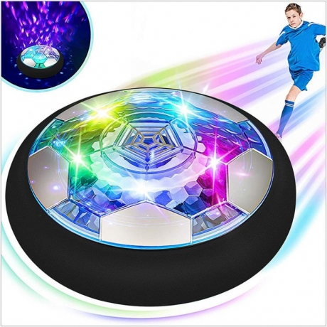 Parent child entertainment for indoor floor suspended LED flash football