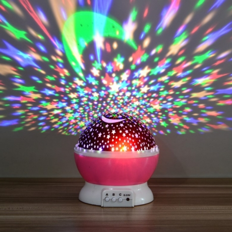 Creative Dream star sky projection lamp for birthday party