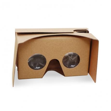 Paperboard folded mini size LOGO printing 3D effect VR glasses (No.VR-S01)