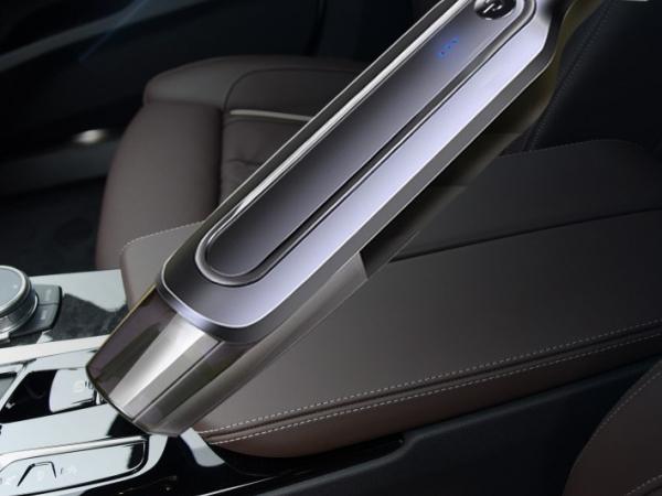 Handheld car interior vacuum cleaner