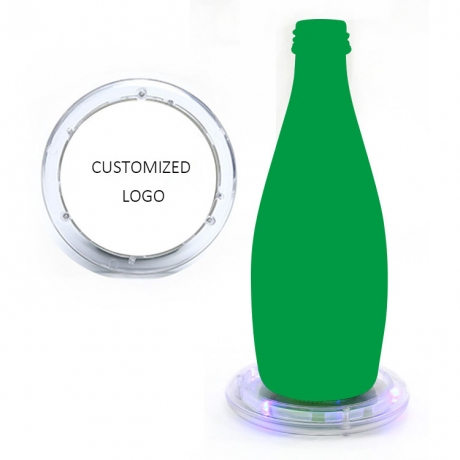 LED light up timing remind drink water luminous coaster (No.GFE-T100)