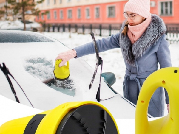 Electric snow scraper snow remover snow cleaner for cars