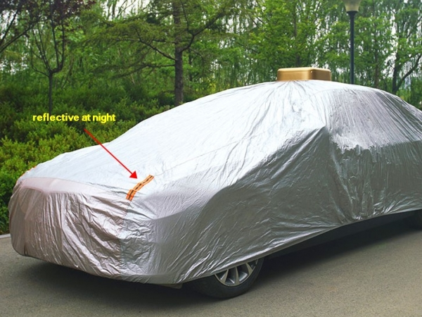 Solar automatic car cover car clothes for camping