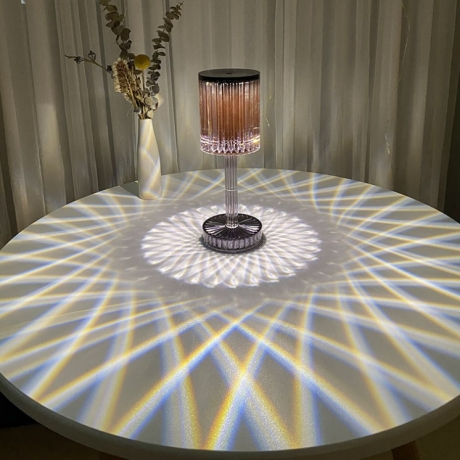 16 color variable table lamp for setting off the bar with unified remote control